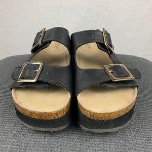Mossimo Platform Birkenstock Style Sandals